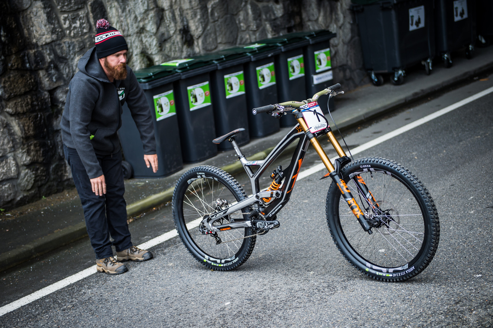 The Bike Whisperer - 2017 Lourdes World Cup Pit Bits - Mountain Biking Pictures - Vital MTB