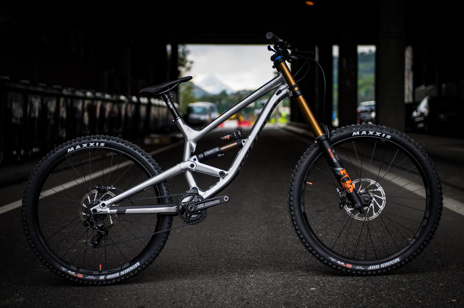 Commencal Furious 2018 - 2017 Lourdes World Cup Pit Bits - Mountain Biking Pictures - Vital MTB