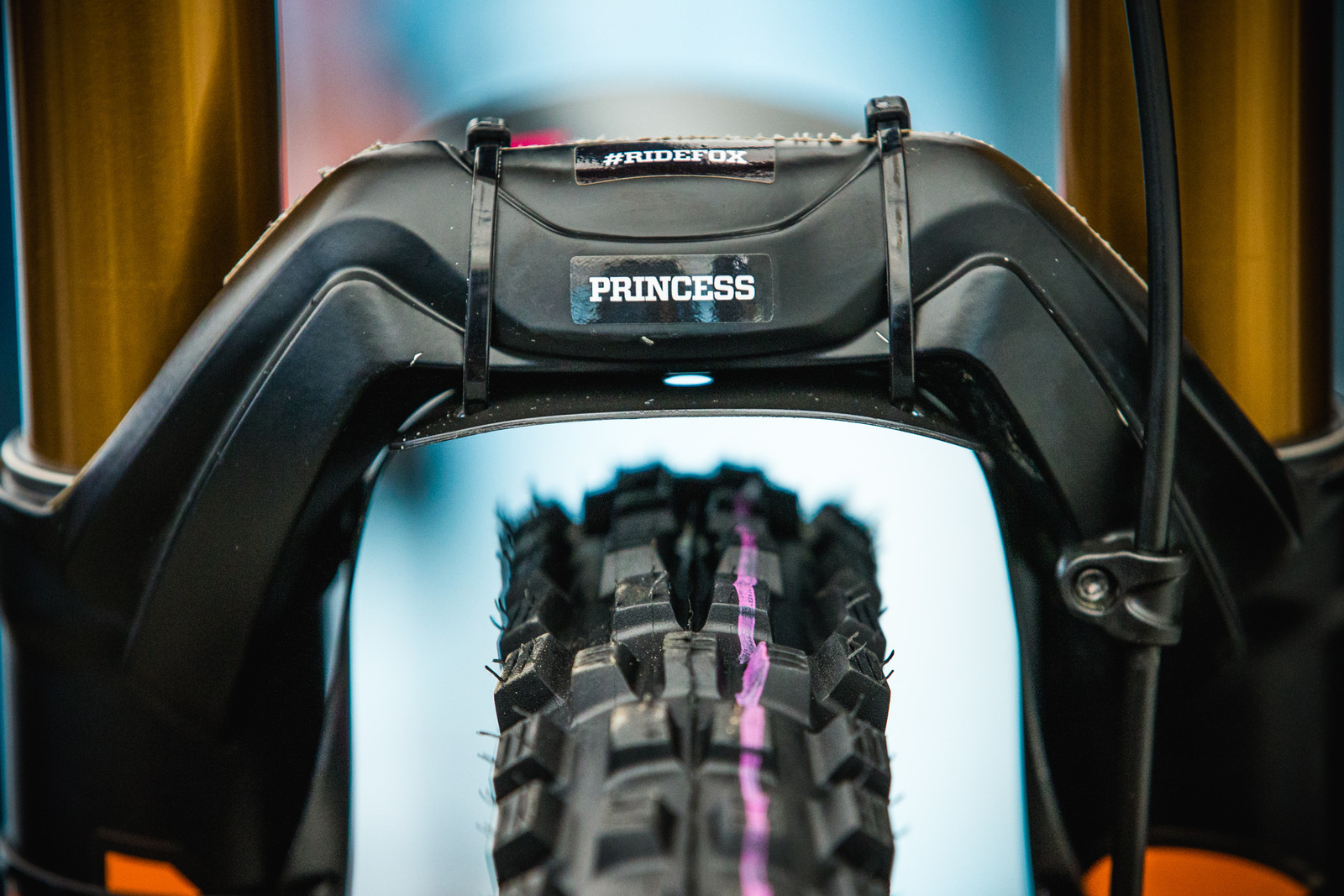 Tahnee Seagrave's Transition TR500 - 2017 Lourdes World Cup Pit Bits - Mountain Biking Pictures - Vital MTB