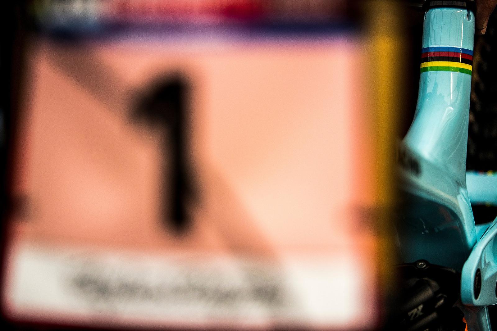 Rachel Atherton's Trek Session - 2017 Lourdes World Cup Pit Bits - Mountain Biking Pictures - Vital MTB