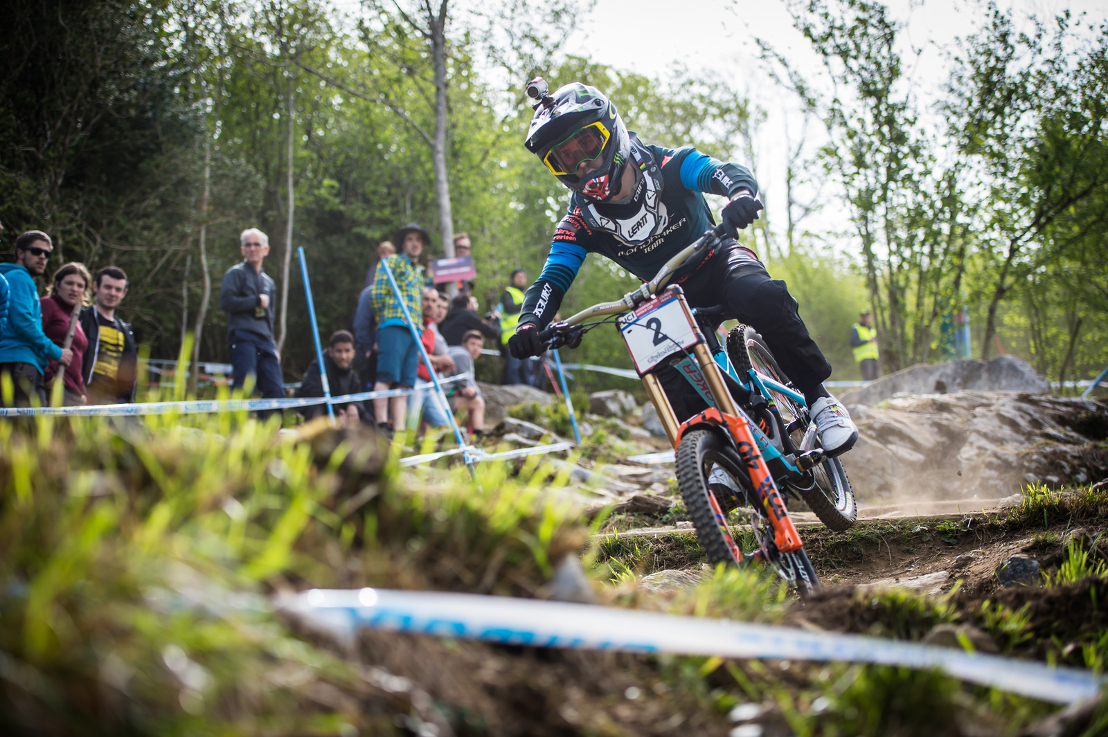 Danny Hart, Lourdes Race Morning Practice - iceman2058 - Mountain Biking Pictures - Vital MTB