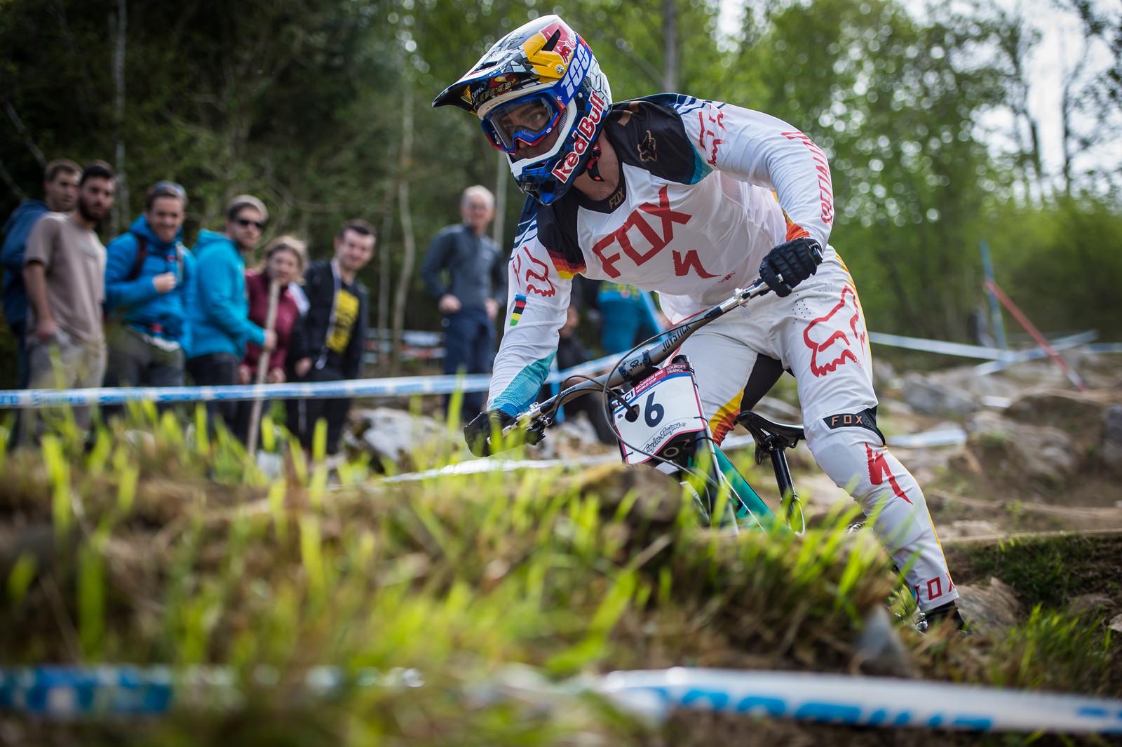 Loic Bruni, Lourdes Race Morning Practice - iceman2058 - Mountain Biking Pictures - Vital MTB