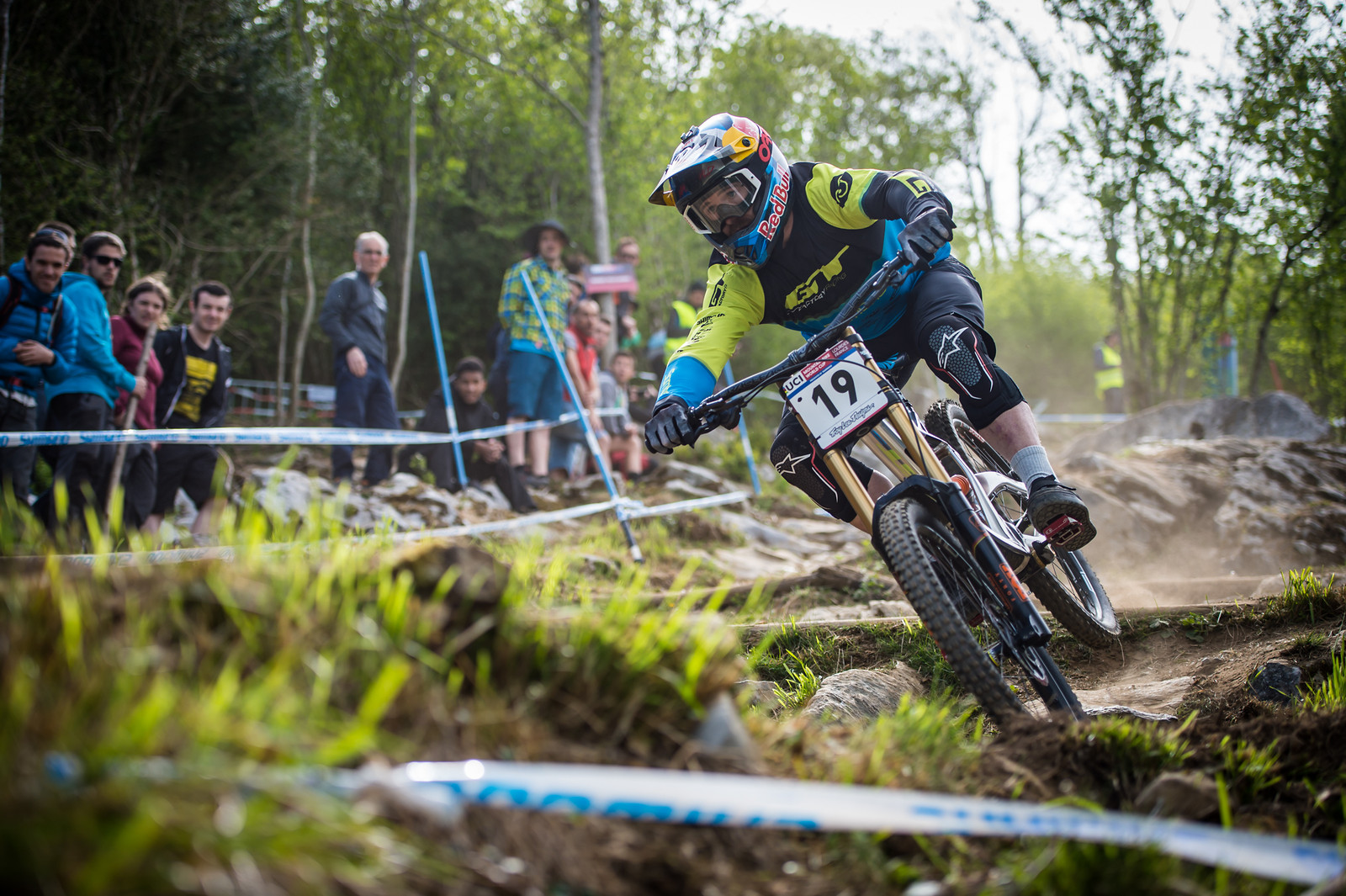 Brook Macdonald, Lourdes Race Morning Practice - iceman2058 - Mountain Biking Pictures - Vital MTB