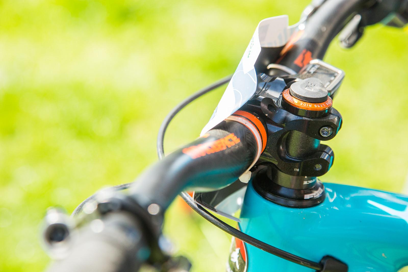 OneUp Components Tool Storage - 2017 Emerald Enduro EWS Pit Bits - Mountain Biking Pictures - Vital MTB