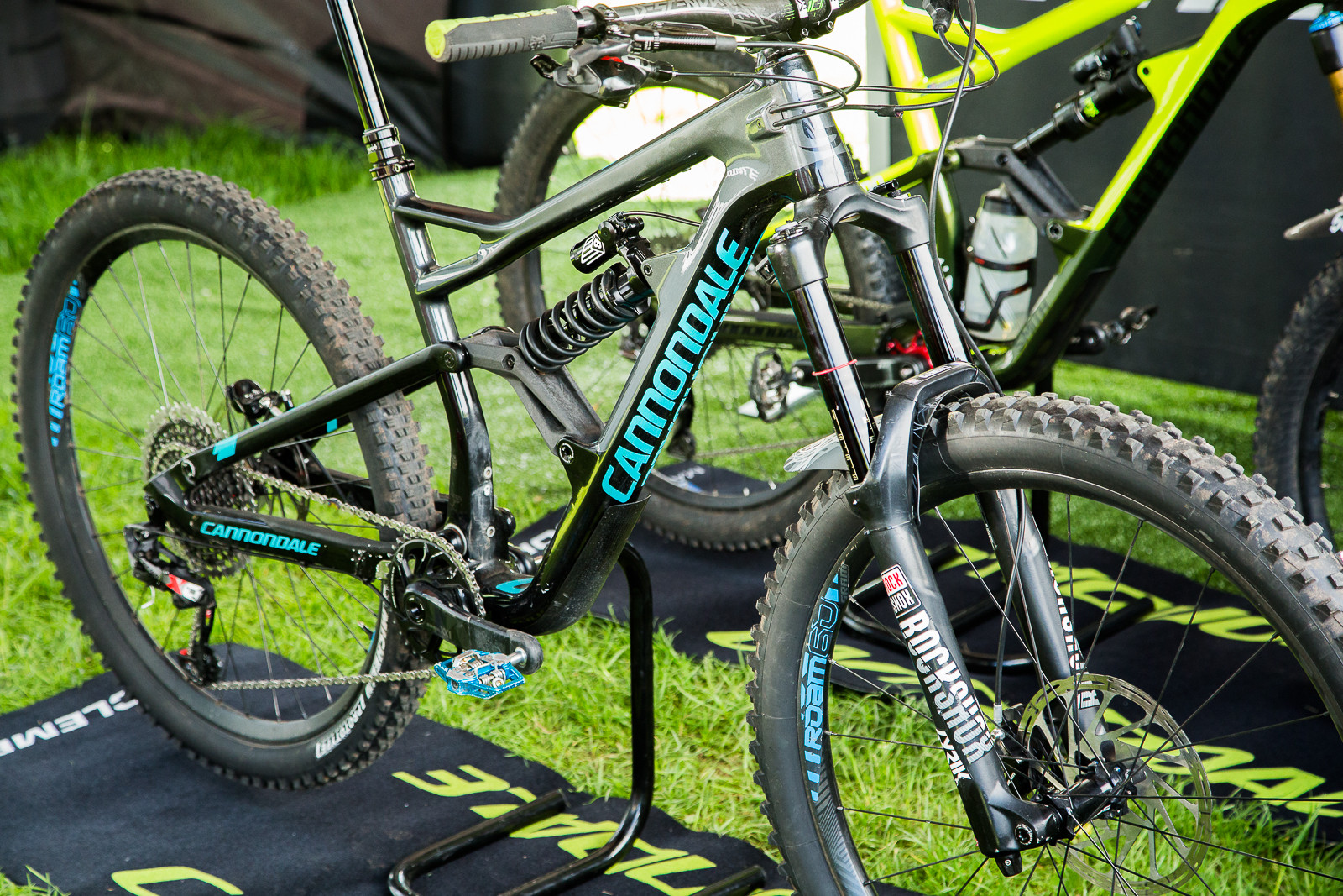 Jerome Clementz' Cannondale Jekyll with Coil Spring - 2017 Emerald Enduro EWS Pit Bits - Mountain Biking Pictures - Vital MTB