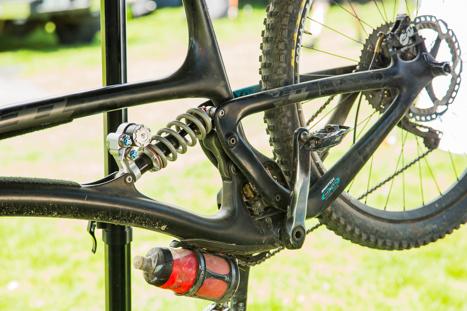 Push Elevensix Shock - 2017 Emerald Enduro EWS Pit Bits - Mountain Biking Pictures - Vital MTB