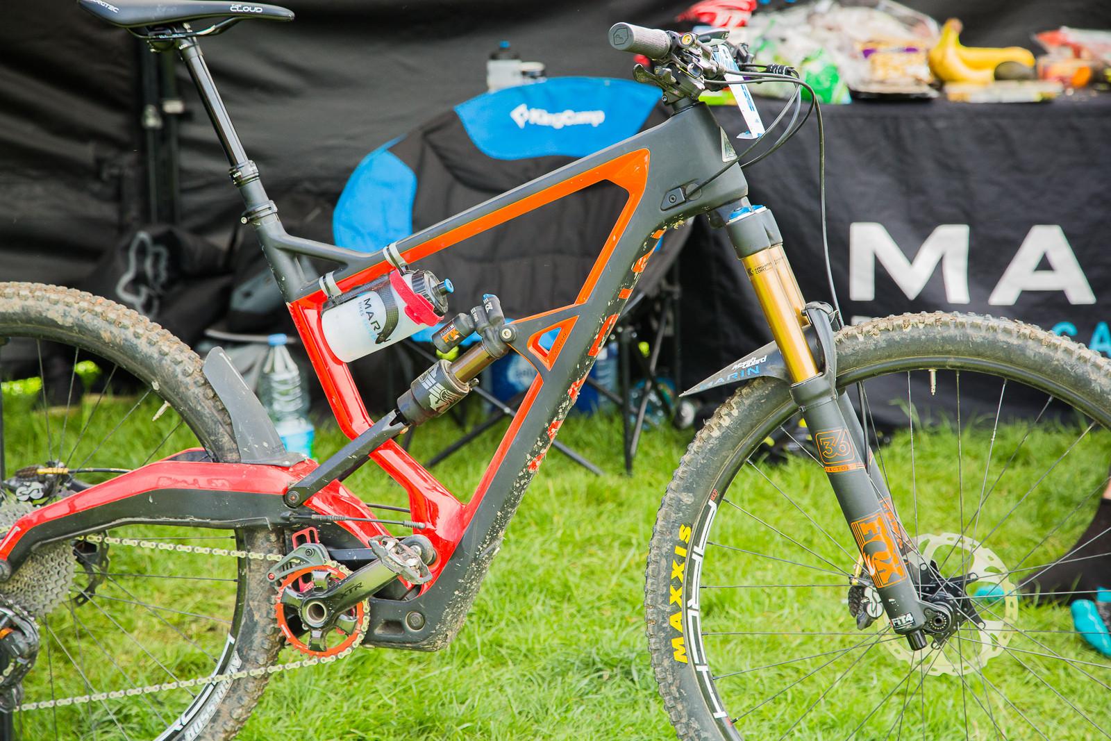 Marin Wolf Ridge - 2017 Emerald Enduro EWS Pit Bits - Mountain Biking Pictures - Vital MTB