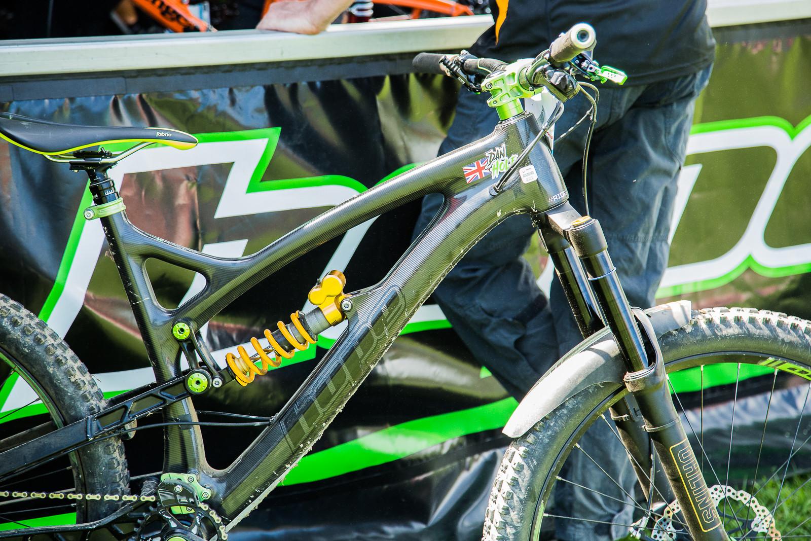Hope HB211 - 2017 Emerald Enduro EWS Pit Bits - Mountain Biking Pictures - Vital MTB
