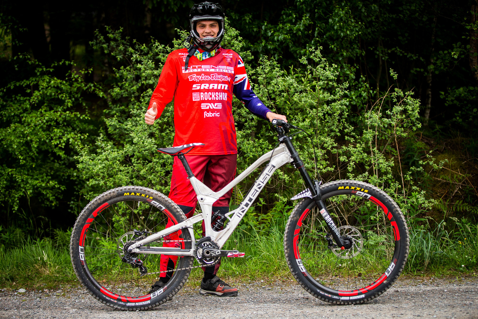 Jack Moir's Prototype Intense DH 29er - 2017 Fort William World Cup Pit Bits - Mountain Biking Pictures - Vital MTB