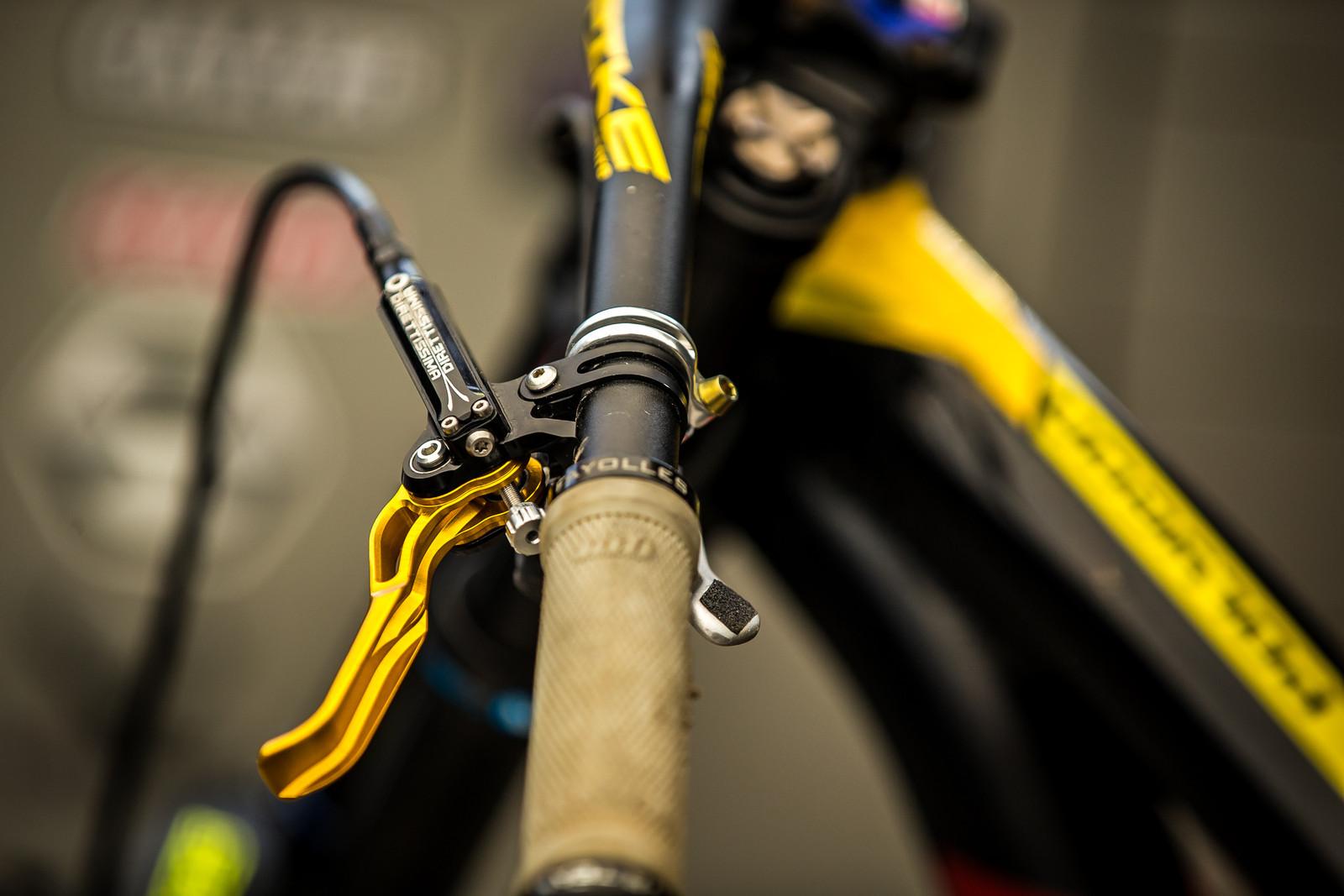 TrickStuff Brakes - 2017 Leogang World Cup Pit Bits - Mountain Biking Pictures - Vital MTB