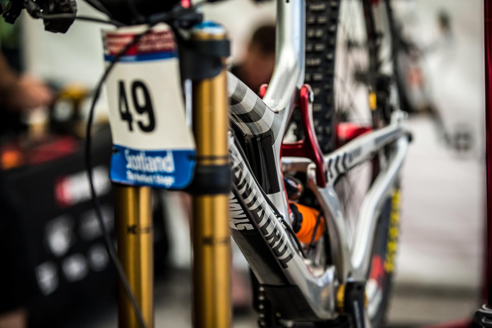 Santa Cruz V10cc 29er - 2017 Leogang World Cup Pit Bits - Mountain Biking Pictures - Vital MTB