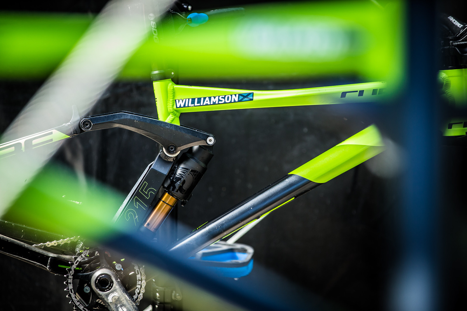 Greg Williamson's Cube - 2017 Leogang World Cup Pit Bits - Mountain Biking Pictures - Vital MTB
