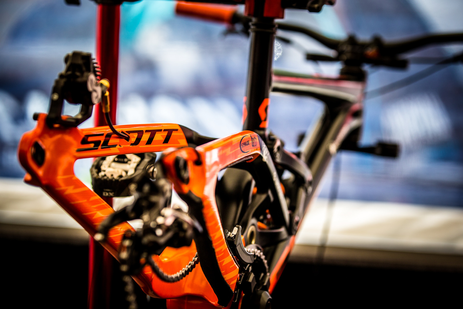 Brendog's Gambler - Will It Get the 29er Treatment? - 2017 Leogang World Cup Pit Bits - Mountain Biking Pictures - Vital MTB