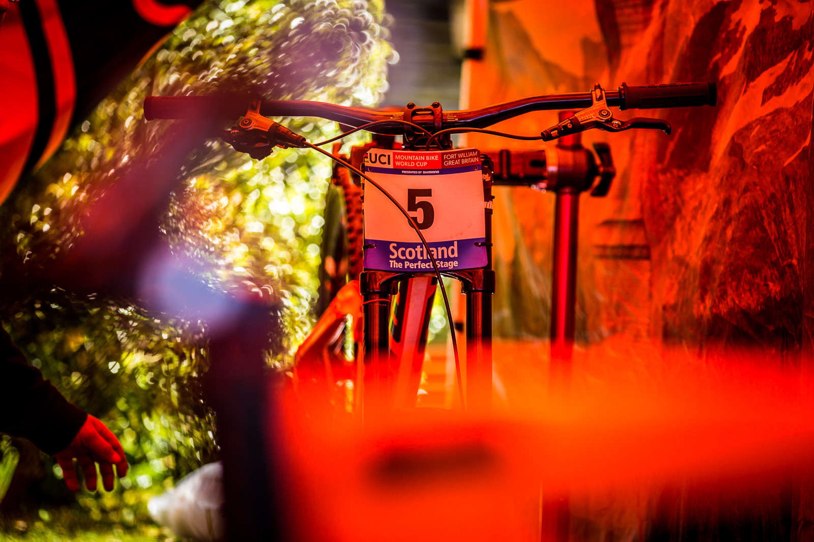 Heck Yeah Connor! - 2017 Leogang World Cup Pit Bits - Mountain Biking Pictures - Vital MTB