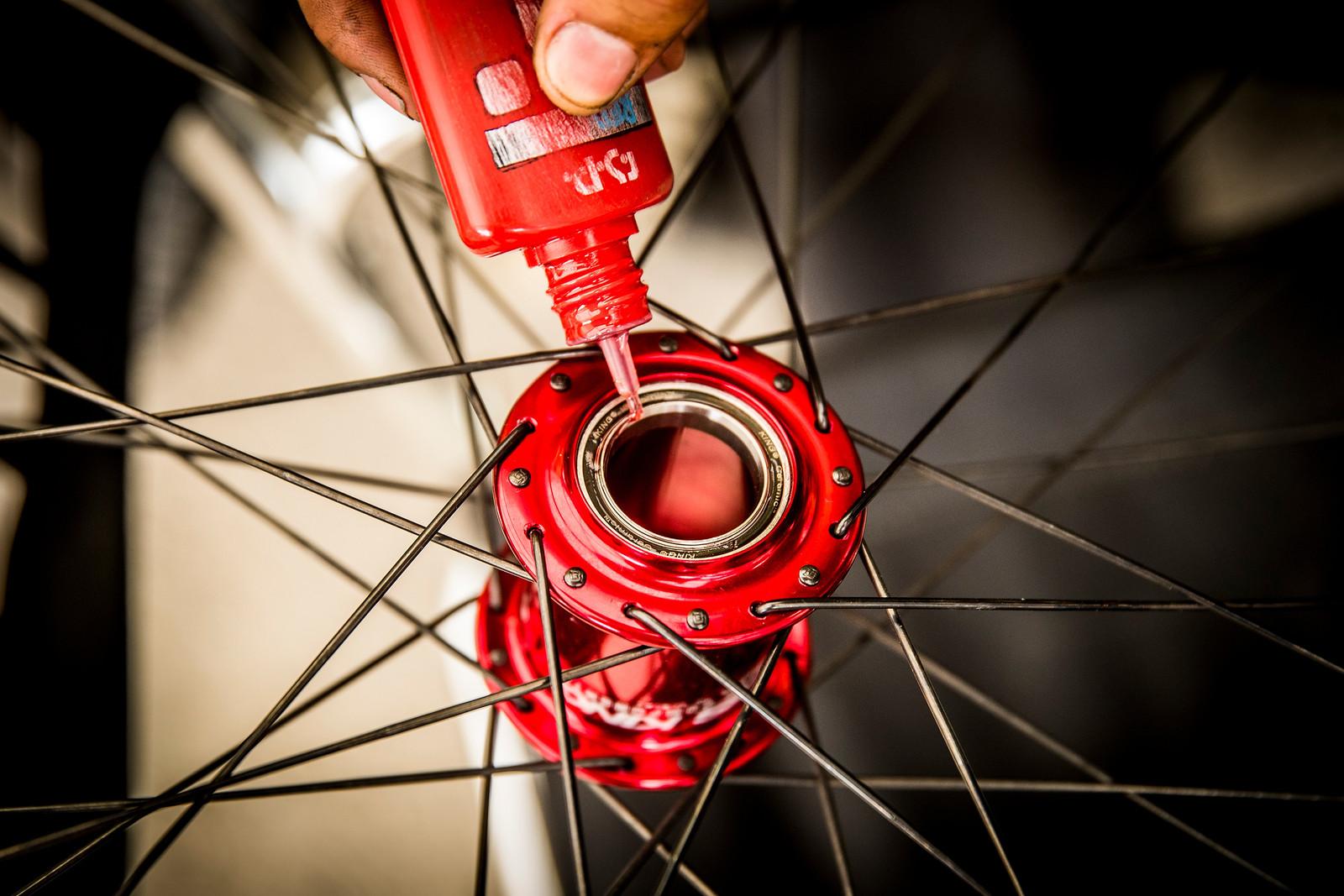 Make 'em Spin - 2017 Leogang World Cup Pit Bits - Mountain Biking Pictures - Vital MTB