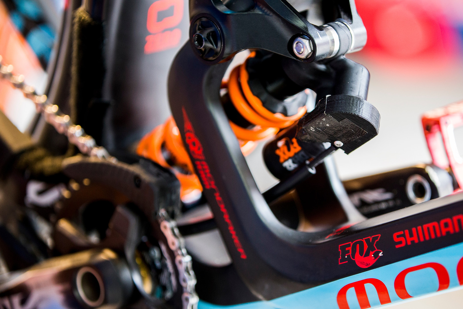 Laurie Greenland's Remote Lock-out - 2017 Leogang World Cup Pit Bits - Mountain Biking Pictures - Vital MTB