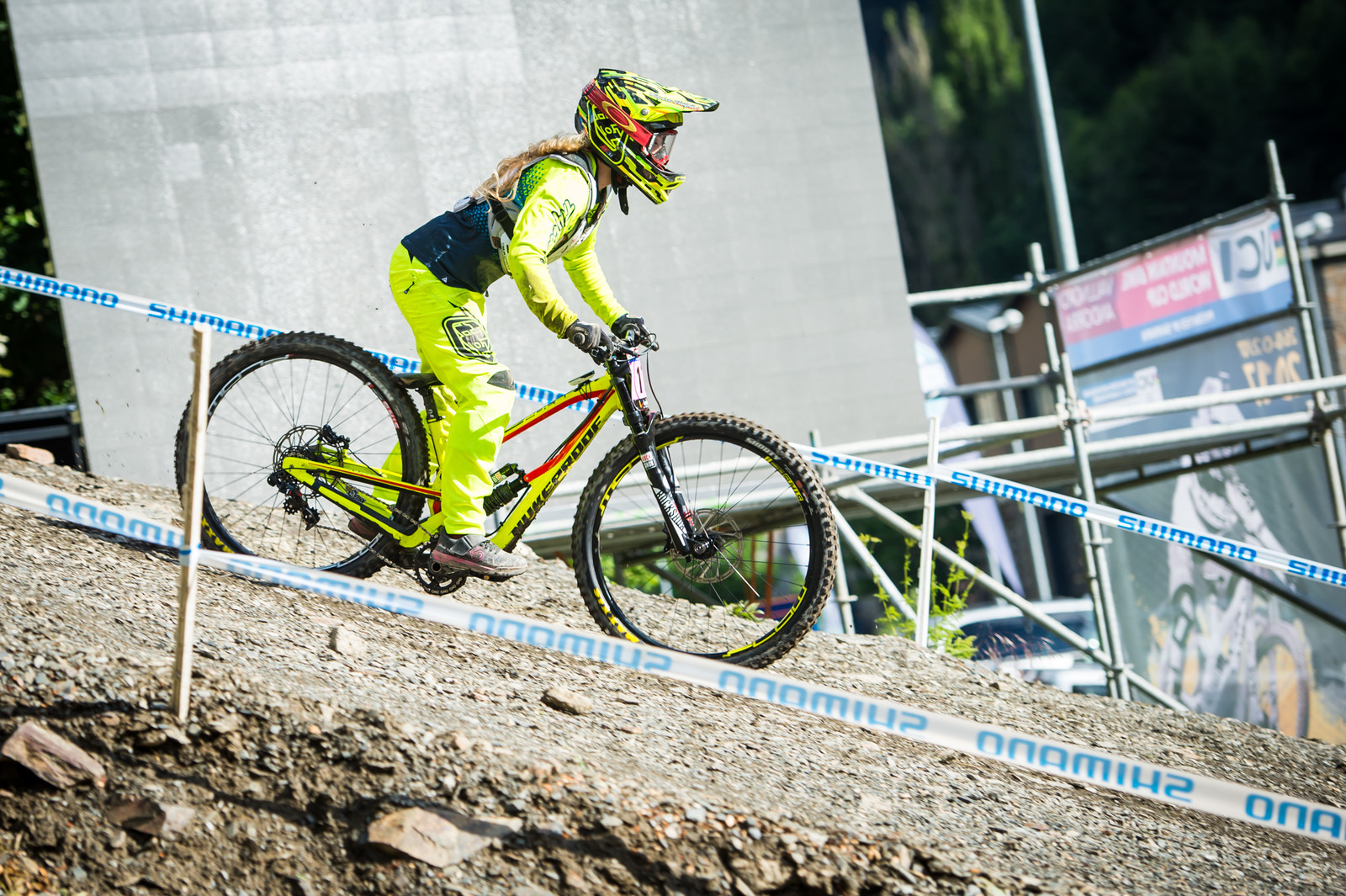 Nukeproof G-Out 2 - G-Out Project: Andorra World Cup 2017 - Mountain Biking Pictures - Vital MTB