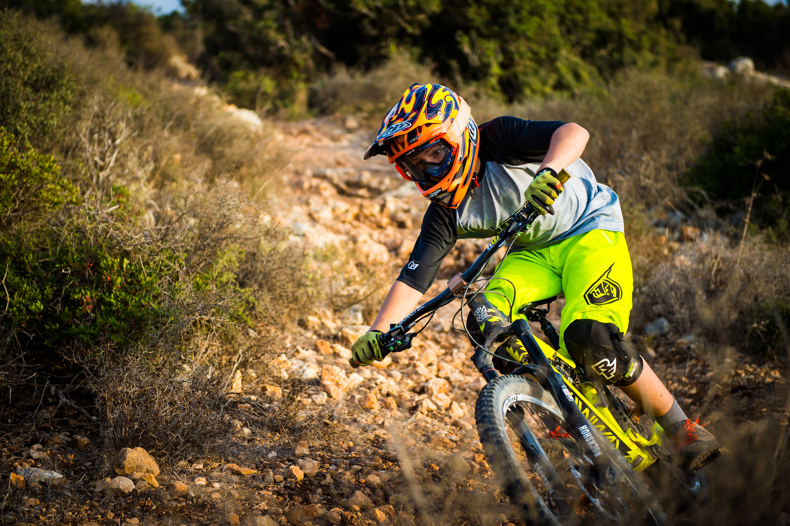 Sunset Turn - iceman2058 - Mountain Biking Pictures - Vital MTB