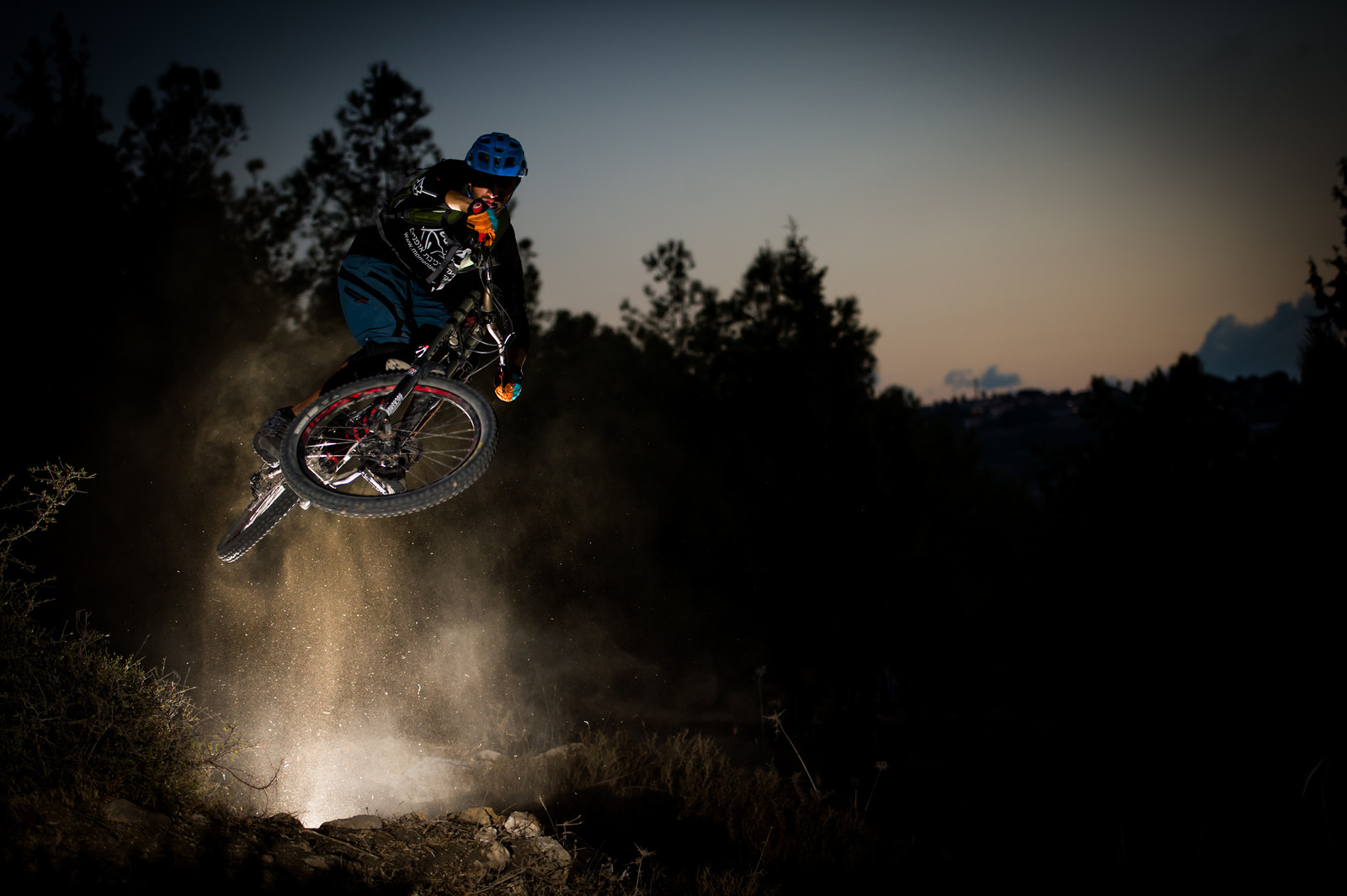 Fun with Flash - iceman2058 - Mountain Biking Pictures - Vital MTB