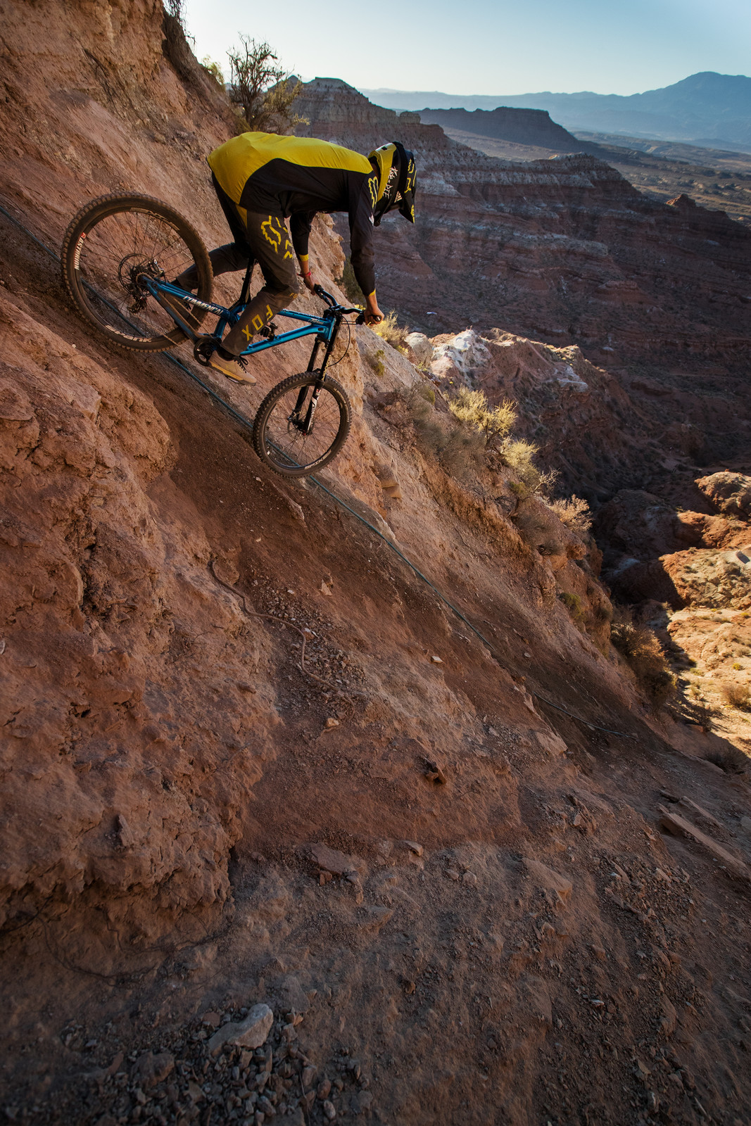 Dropping In! - Red Bull Rampage 2017 Practice Session - Mountain Biking Pictures - Vital MTB