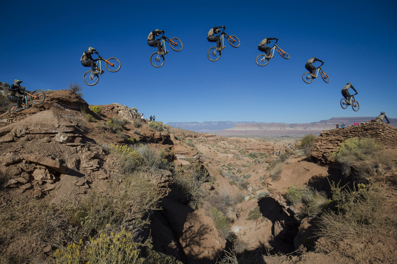 Reed Boggs Sequence - Red Bull Rampage 2017 Practice Session - Mountain Biking Pictures - Vital MTB