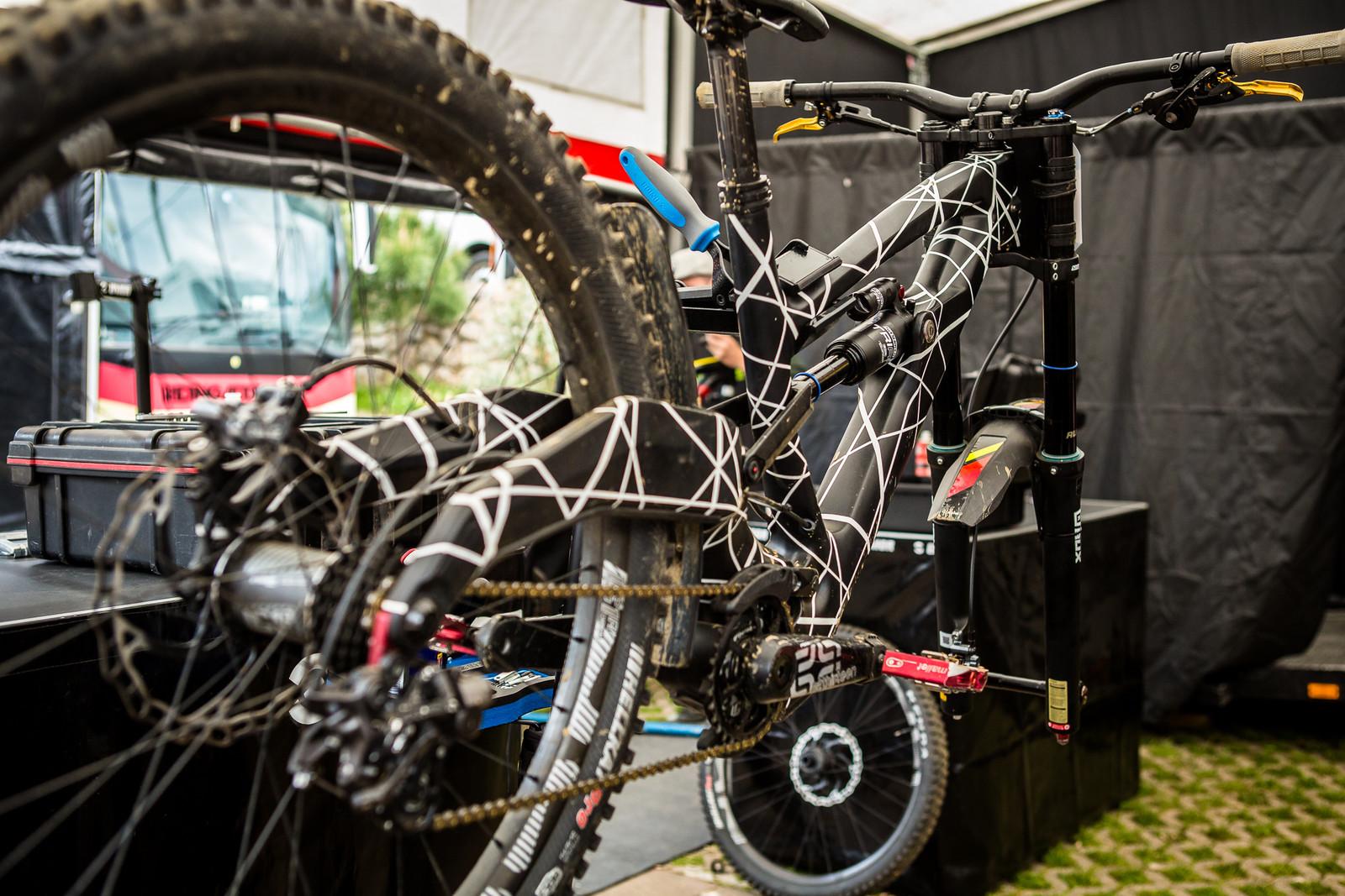 Polygon DH Protytpe - 2018 Losinj World Cup Pit Bits - Mountain Biking Pictures - Vital MTB