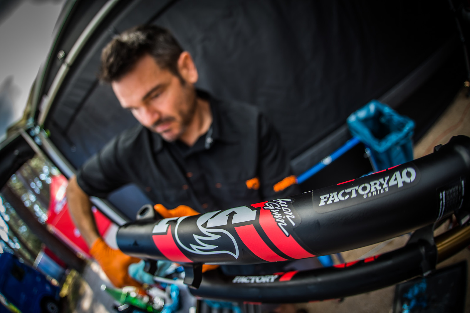 FOX Suspension Support at the Losinj World Cup - 2018 Losinj World Cup Pit Bits - Mountain Biking Pictures - Vital MTB