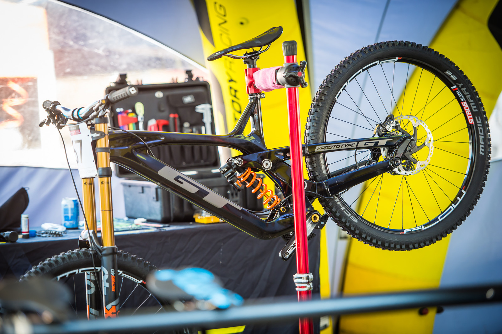 GT Prototype - 2018 Losinj World Cup Pit Bits - Mountain Biking Pictures - Vital MTB
