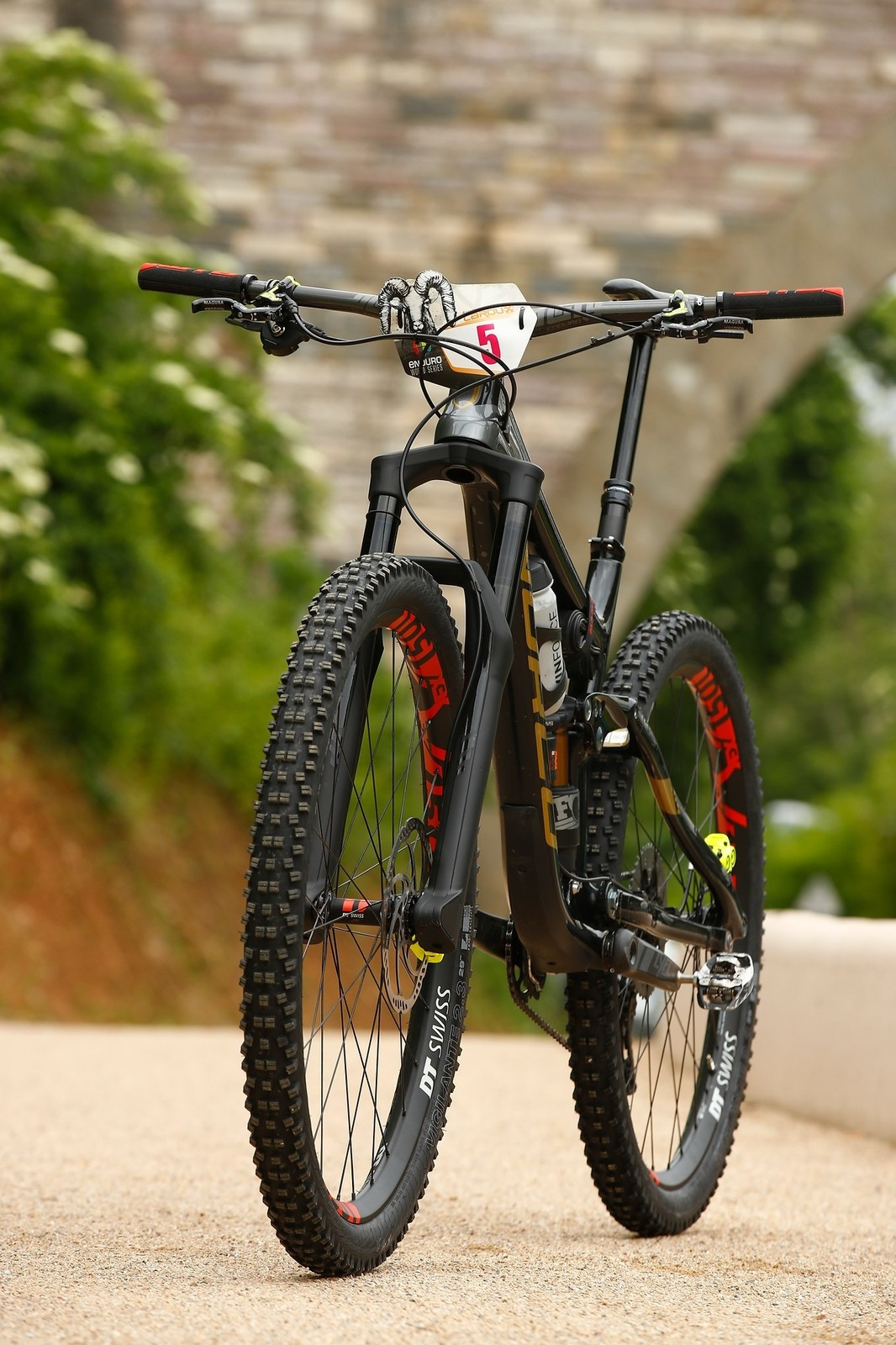 Prototype Fork on Caro Gehrig's Norco Range 29er - Bike Check: Caro Gehrig's Norco 29er - Mountain Biking Pictures - Vital MTB