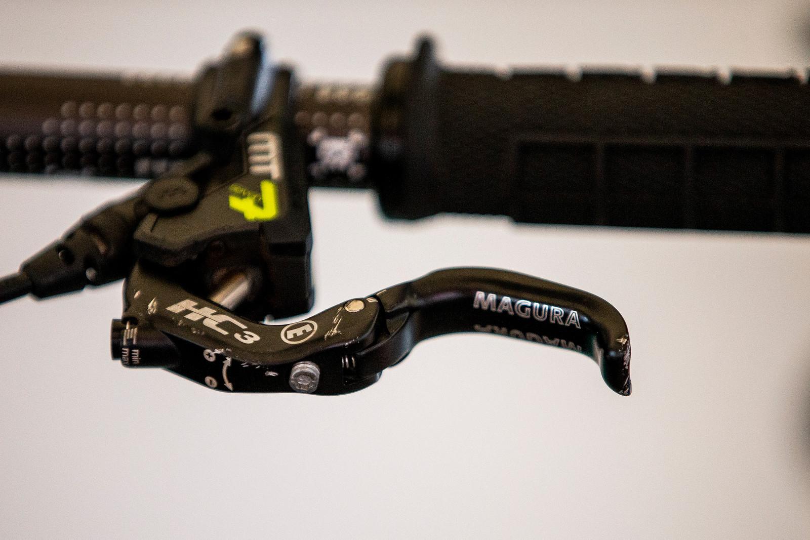 Magura Brake Lever - Mont-Sainte-Anne 2018 PIT BITS - Mountain Biking Pictures - Vital MTB
