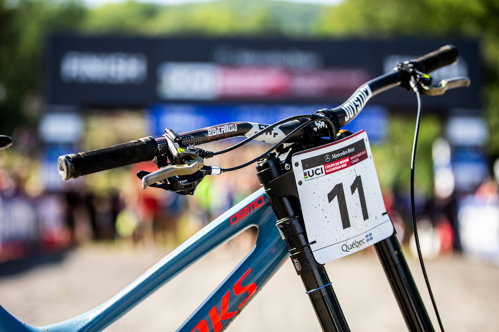 WINNING BIKE: Loic Bruni's Specialized Demo at Mont-Sainte-Anne - MSA 2018 Winning Bike: Loic Bruni's Specialized Demo - Mountain Biking Pictures - Vital MTB