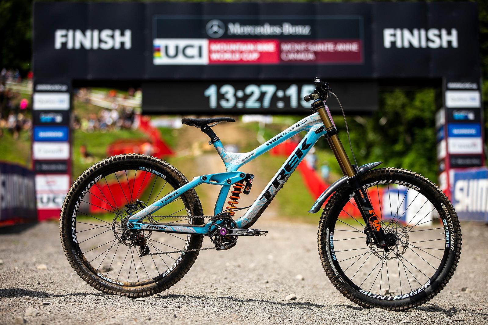 MSA 2018 WINNING BIKE: Rachel Atherton's Trek Session - MSA 2018 Winning Bike: Rachel Atherton's Trek Session - Mountain Biking Pictures - Vital MTB
