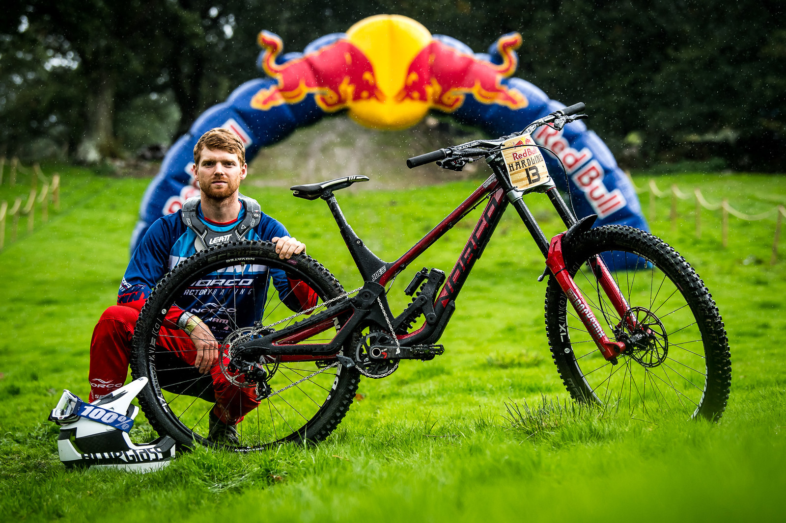 Joe Smith and His Norco Aurum HSP - Red Bull Hardline 2018 Riders and Bikes - Mountain Biking Pictures - Vital MTB