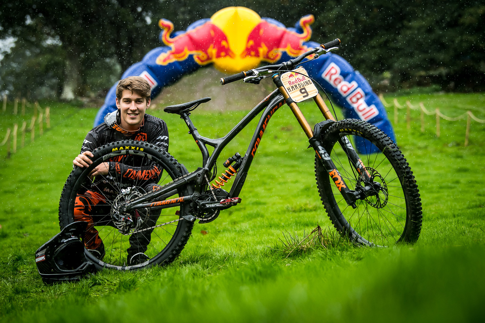 Reece Wilson and His Commencal Supreme DH 29 - Red Bull Hardline 2018 Riders and Bikes - Mountain Biking Pictures - Vital MTB