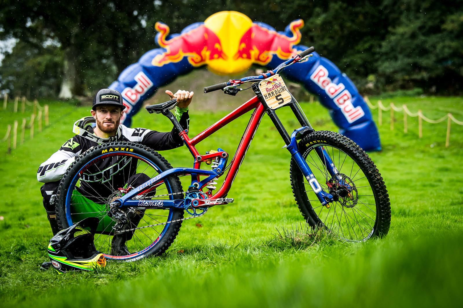 Adam Brayton and His Scott Gambler Worlds Bike - Red Bull Hardline 2018 Riders and Bikes - Mountain Biking Pictures - Vital MTB