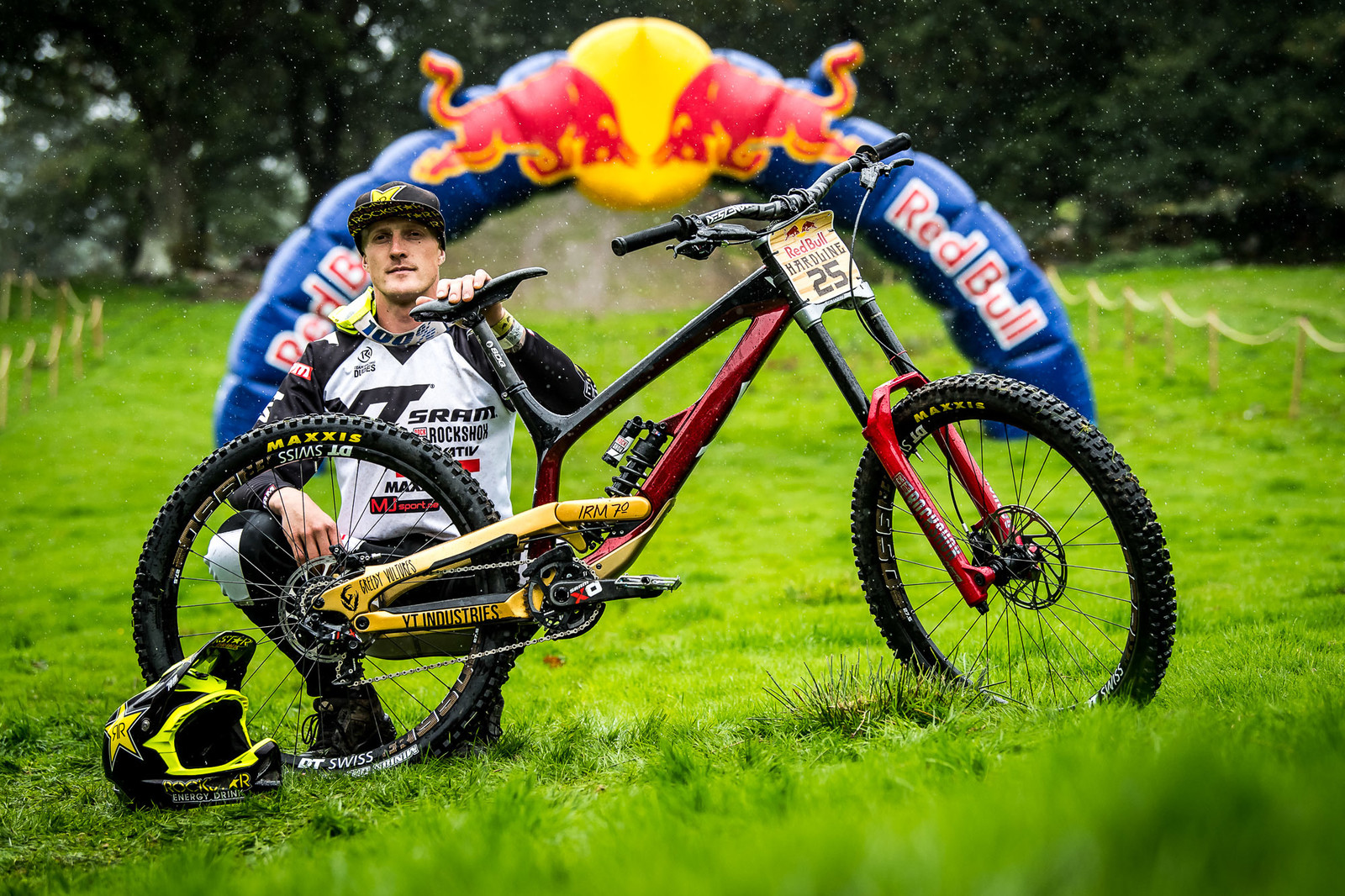 Erik Irmisch and his YT Tues Worlds Bike - Red Bull Hardline 2018 Riders and Bikes - Mountain Biking Pictures - Vital MTB