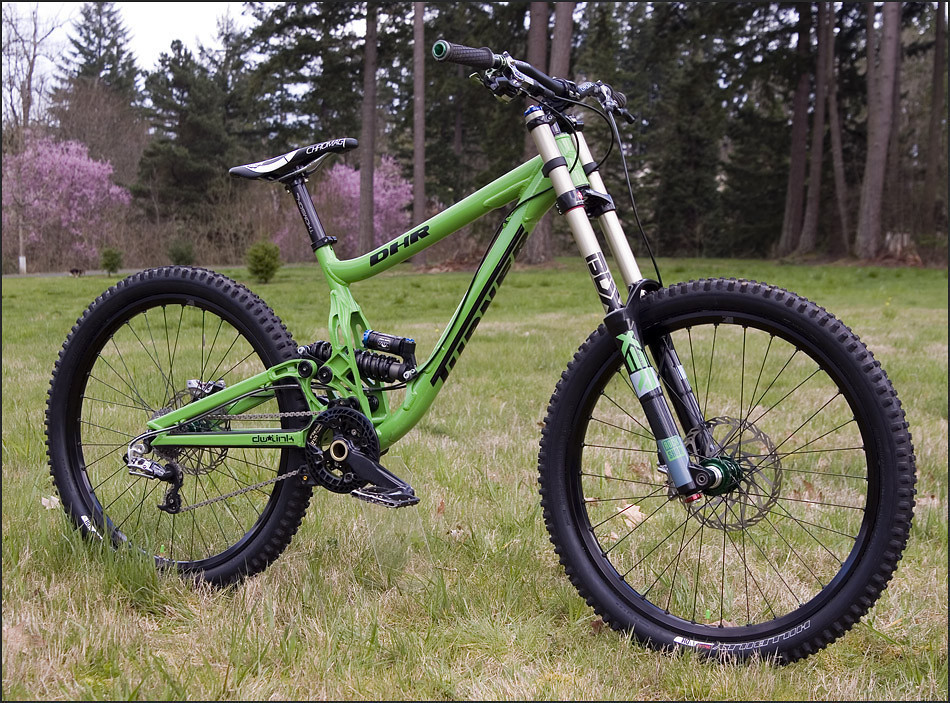 Turner DHR green - 2019 Vital Bike of the Day Collection - Mountain Biking Pictures - Vital MTB