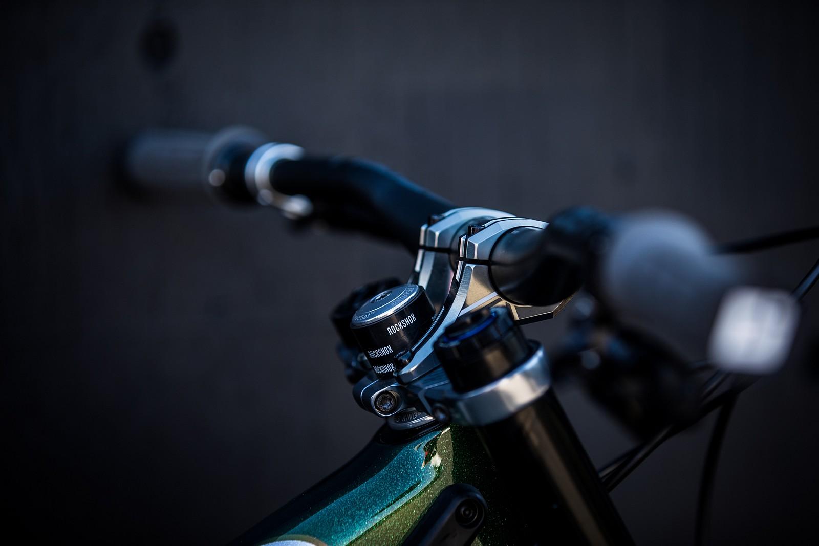 Connor Fearon's Kona Operator at 2019 Worlds MSA - Connor Fearon's Kona Operator at 2019 Worlds MSA - Mountain Biking Pictures - Vital MTB
