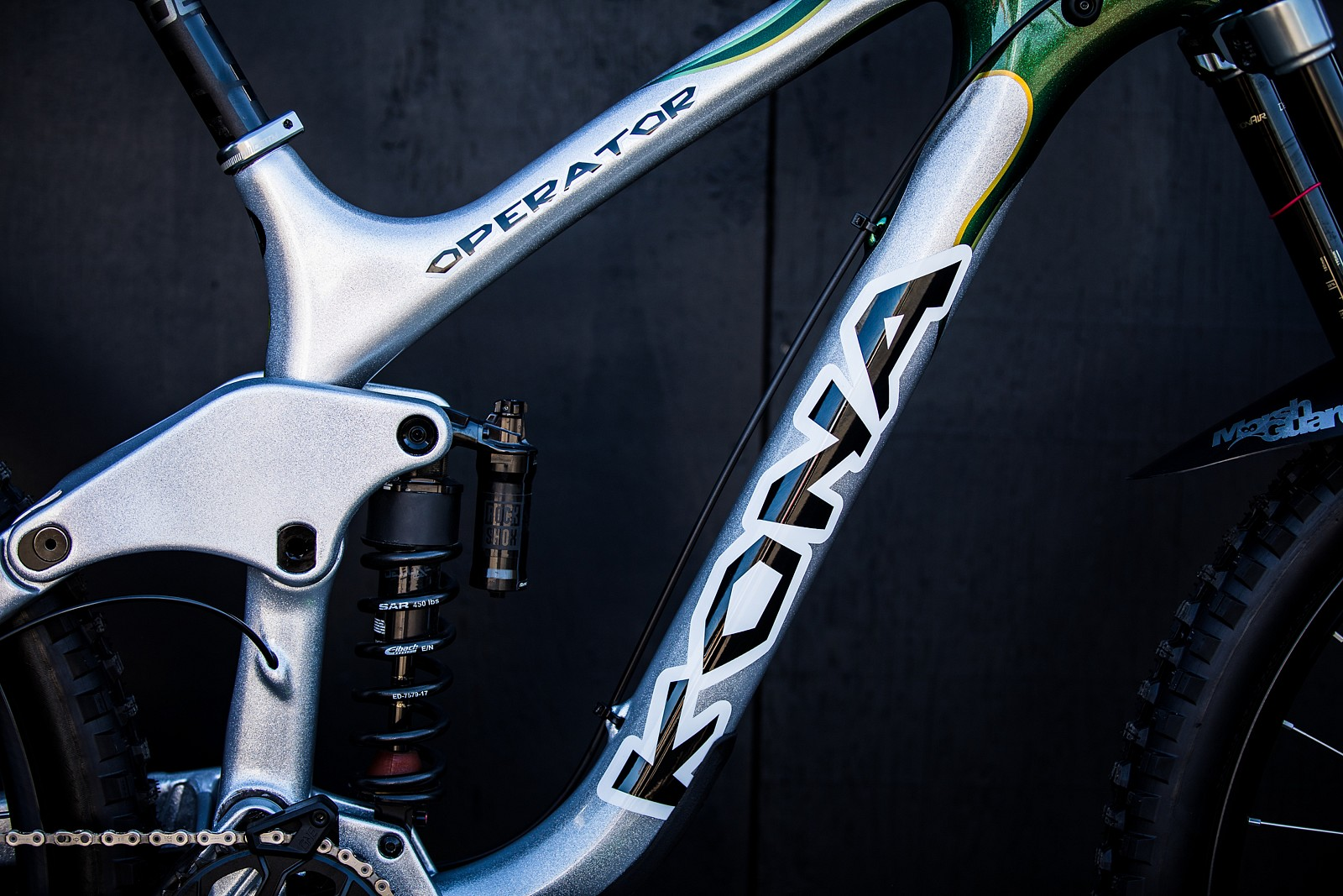 Connor Fearon's Kona Operator at 2019 Worlds MSA - Connor Fearon's Kona Operator at 2019 Worlds MSA - Mountain Biking Pictures - Vital MTB