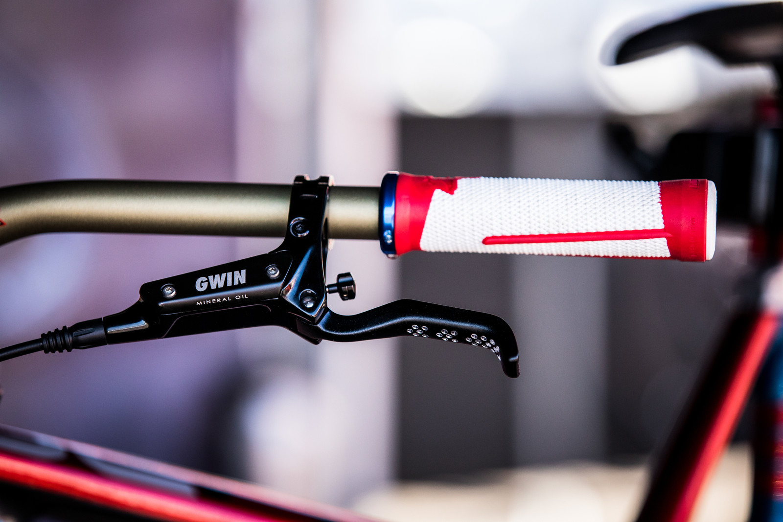 Aaron Gwin's Intense M29 at 2019 Worlds MSA - Aaron Gwin's Intense M279 at 2019 Worlds MSA - Mountain Biking Pictures - Vital MTB