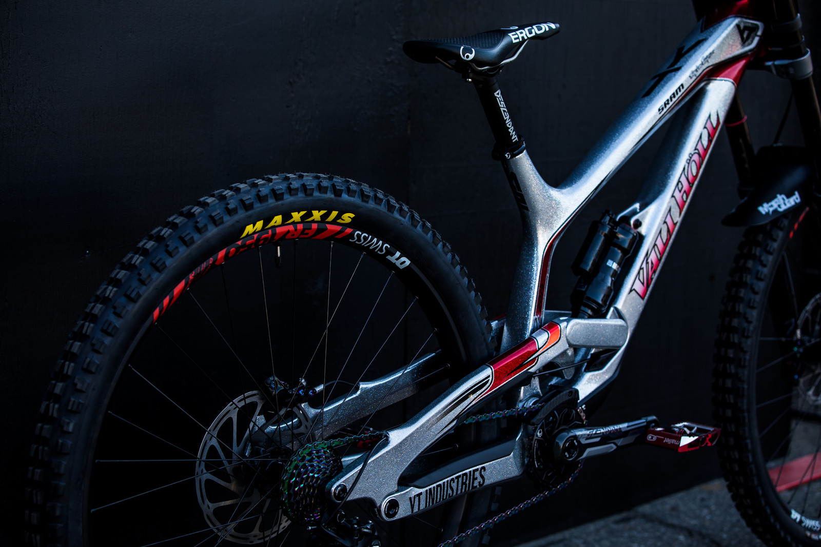 Vali Holl's YT TUES at 2019 Worlds MSA - Vali Holl's YT TUES at 2019 Worlds MSA - Mountain Biking Pictures - Vital MTB