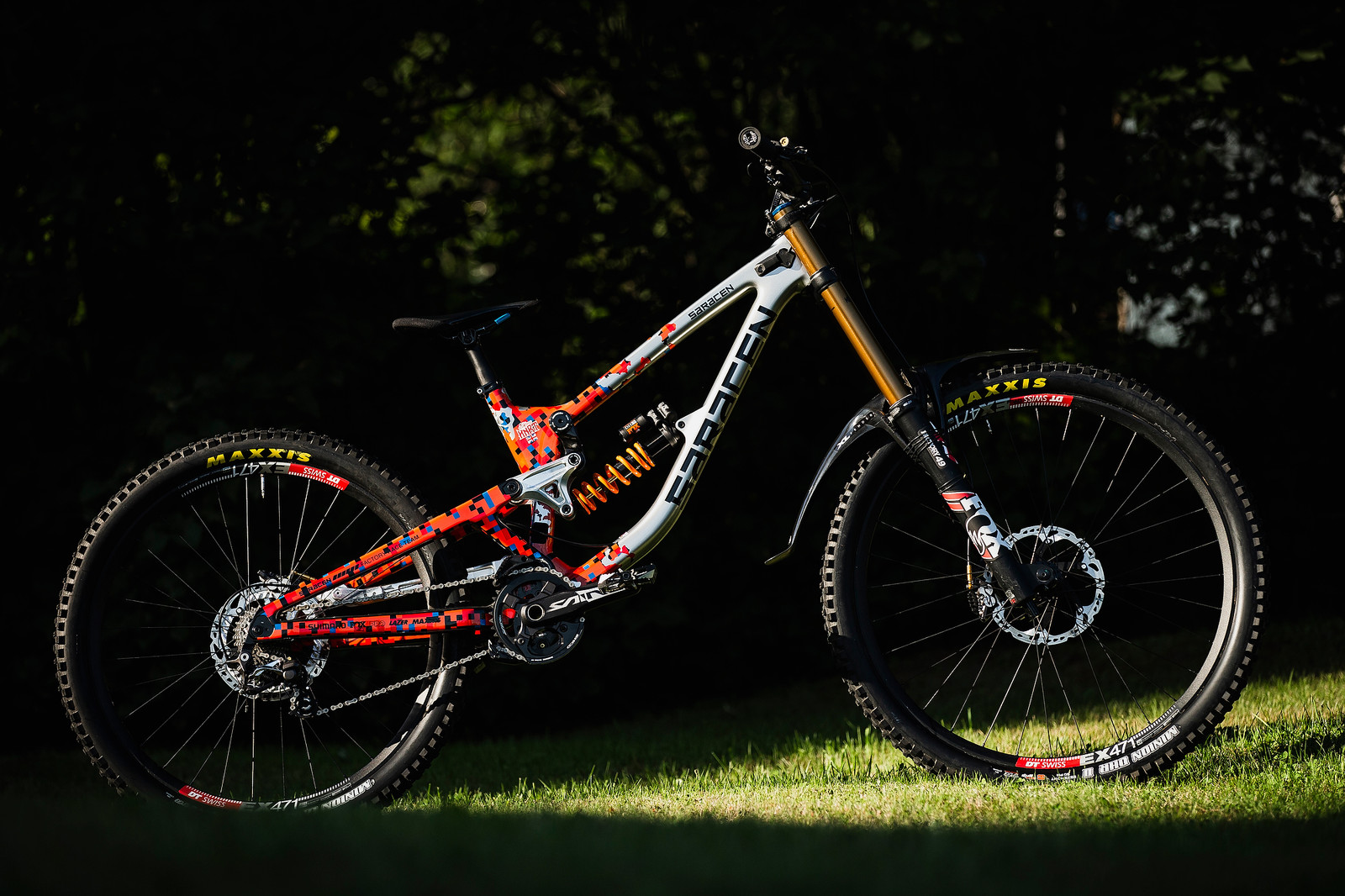 Danny Hart's Saracen Myst at 2019 Worlds MSA - Danny Hart's Saracen Myst at 2019 Worlds MSA - Mountain Biking Pictures - Vital MTB