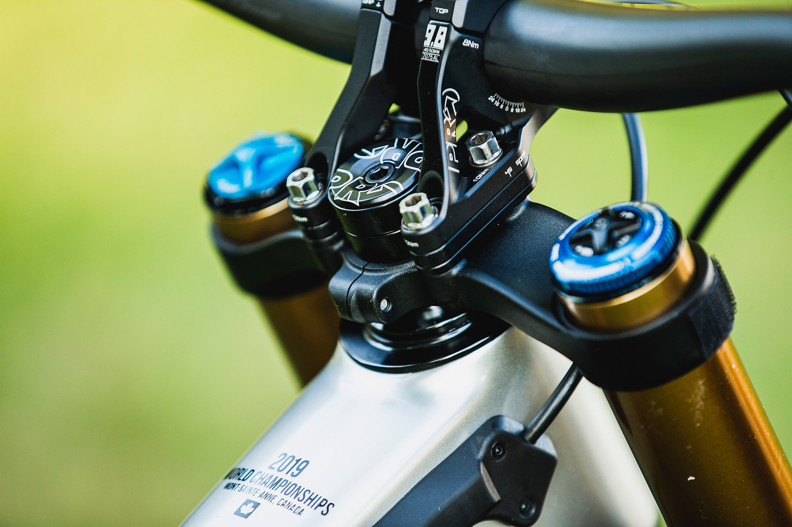 Danny Hart's Saracen Myst at 2019 Worlds MSA - Danny Hart's Saracen Myst at 2019 Worlds MSA - Mountain Biking Pictures - Vital MTB
