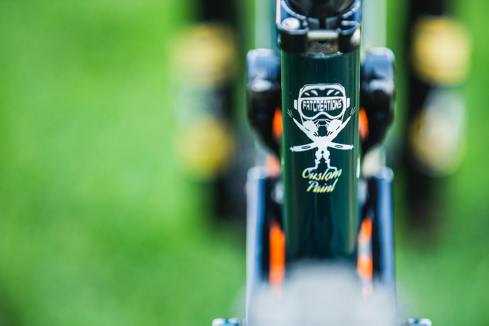 Matt Walker's Saracen Myst at 2019 Worlds MSA - Matt Walker's Saracen Myst at 2019 Worlds MSA - Mountain Biking Pictures - Vital MTB