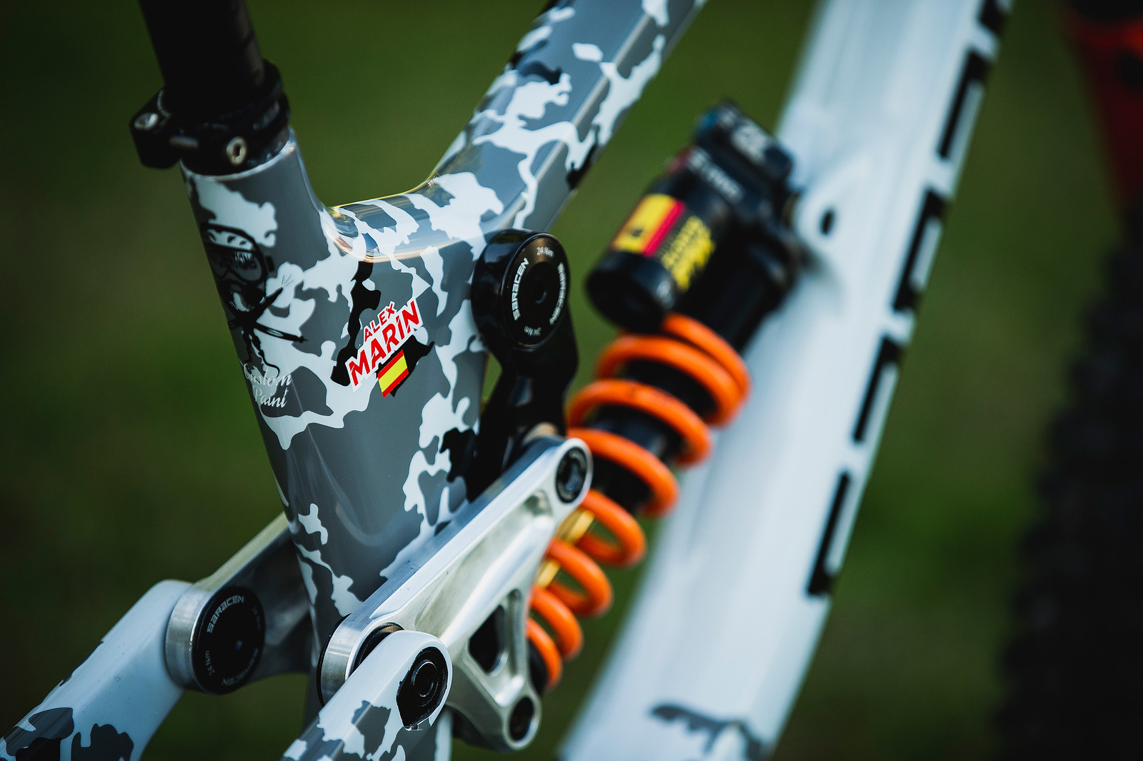 Alex Marin's Saracen Myst at 2019 Worlds MSA - Alex Marin's Saracen Myst at 2019 Worlds MSA - Mountain Biking Pictures - Vital MTB