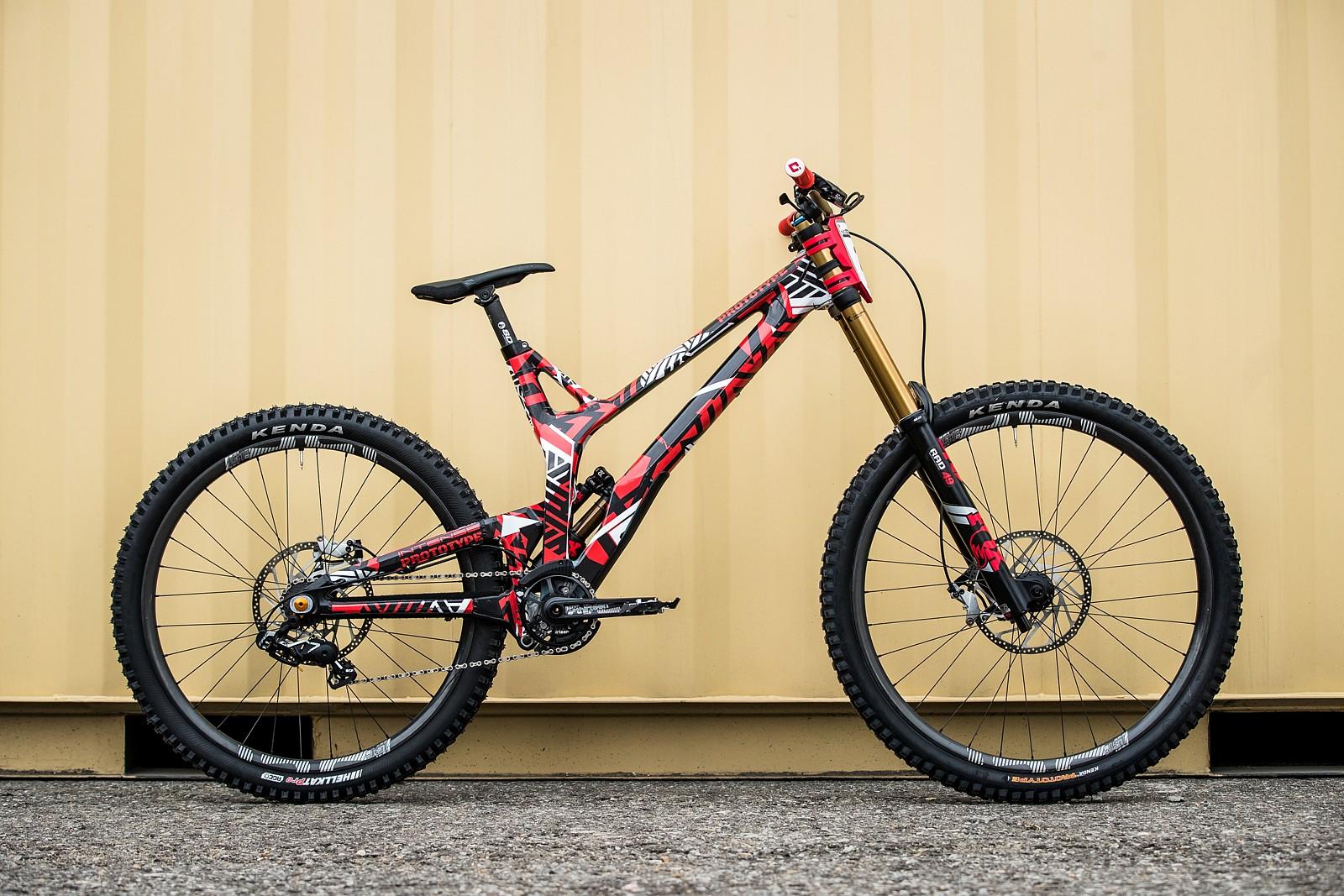 Aaron Gwin's Intense M279 at 2019 Worlds MSA - Aaron Gwin's Intense M279 at 2019 Worlds MSA - Mountain Biking Pictures - Vital MTB