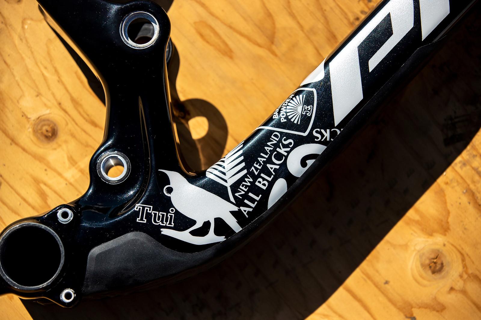 Eddie Masters' Pivot - PIT BITS - 2019 Mountain Bike World Championships Mont-Sainte-Anne - Mountain Biking Pictures - Vital MTB
