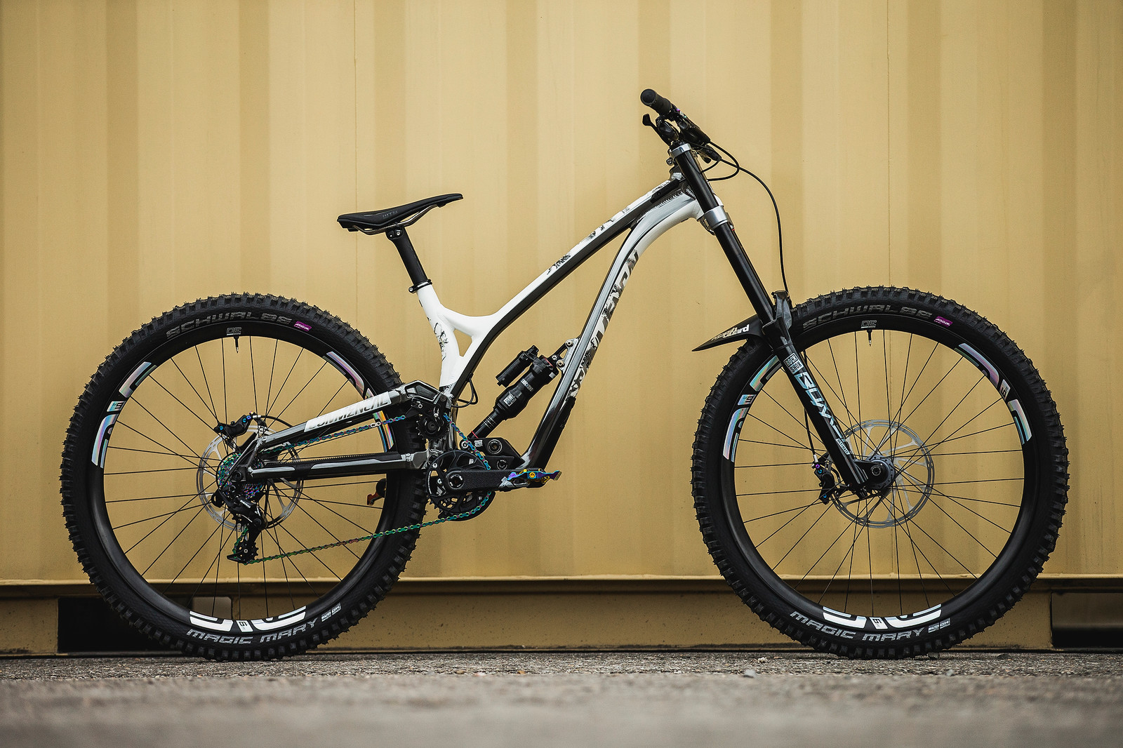 Amaury Pierron's Commencal Supreme DH 29 at 2019 Worlds MSA - Amaury Pierron's Commencal Supreme DH 29 at 2019 Worlds MSA - Mountain Biking Pictures - Vital MTB
