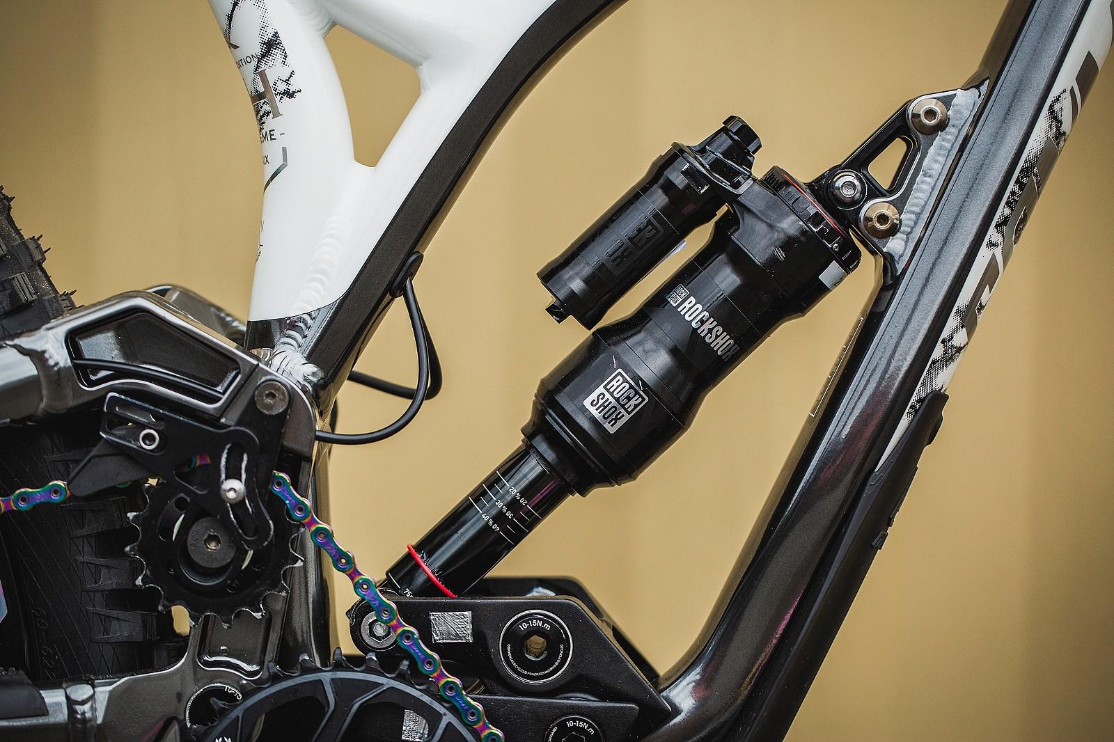 Amaury Pierron's Commencal Supreme DH 29 at 2019 Worlds MSA - Amaury Pierron's Commencal Supreme DH 29 at 2019 Worlds MSA - Mountain Biking Pictures - Vital MTB