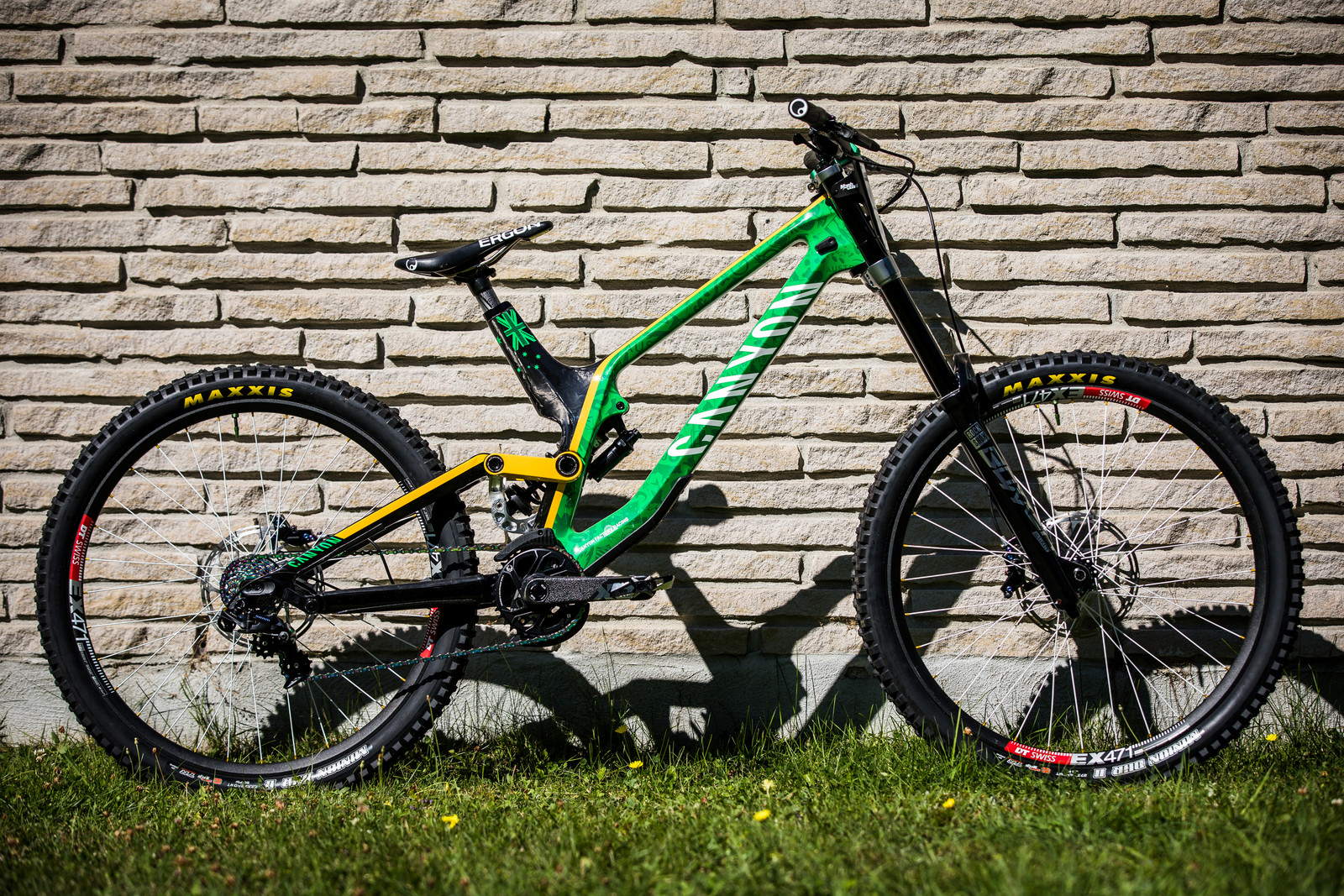 Troy Brosnan's Canyon Sender at 2019 Worlds MSA - Troy Brosnan's Canyon Sender at 2019 Worlds MSA - Mountain Biking Pictures - Vital MTB